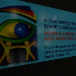 VI CONGRESSO BRASILEIRO SOBRE SÍNDROME DE DOWN